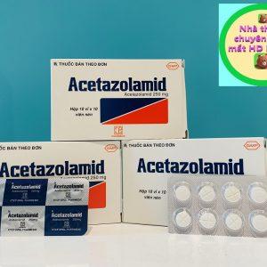 Acetazolamid 250mg 100 viên