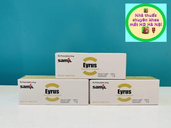 Eyrus mỡ tra mắt 3.5g
