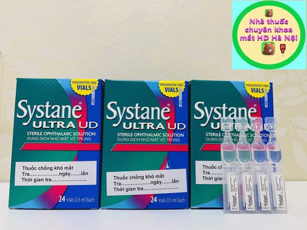 Systane Ultra UD 0.5ml 24 ống