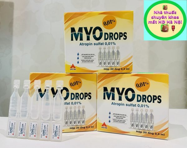 Myo Drops 20 ống 0.5ml