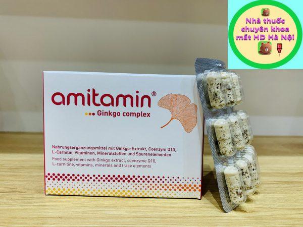 Amitamin Ginkgo Complex 60 viên