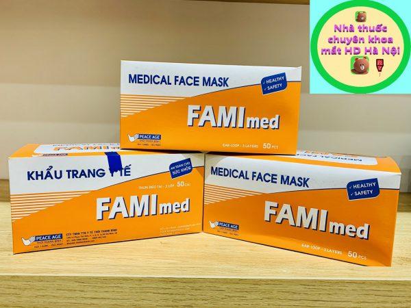 Khẩu trang y tế Famimed