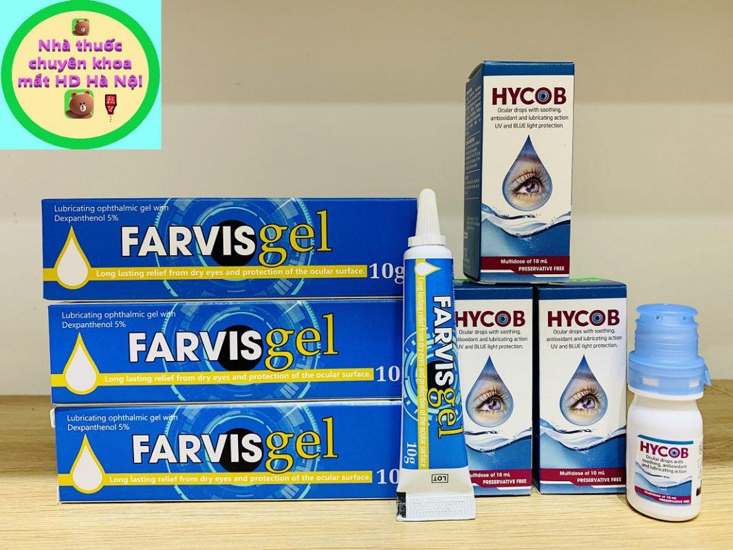 Hycob 10ml và Farvis Gel 10g